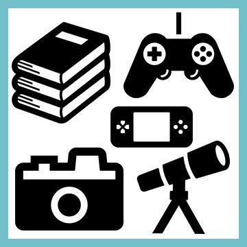ゲーム/本/DVD/カメラ/レコード/望遠鏡